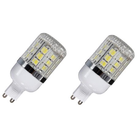 Sodial G9 5w Non Dimmable 27 Smd 5050 Led Corn Light Bulb