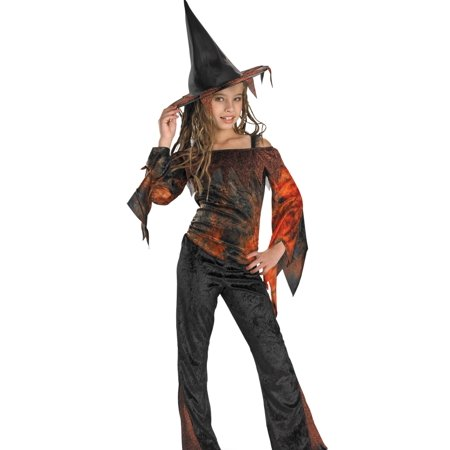Disguise Kids Girls Tie Dye Witch Halloween Costume (Baby Girl Witch Costumes)