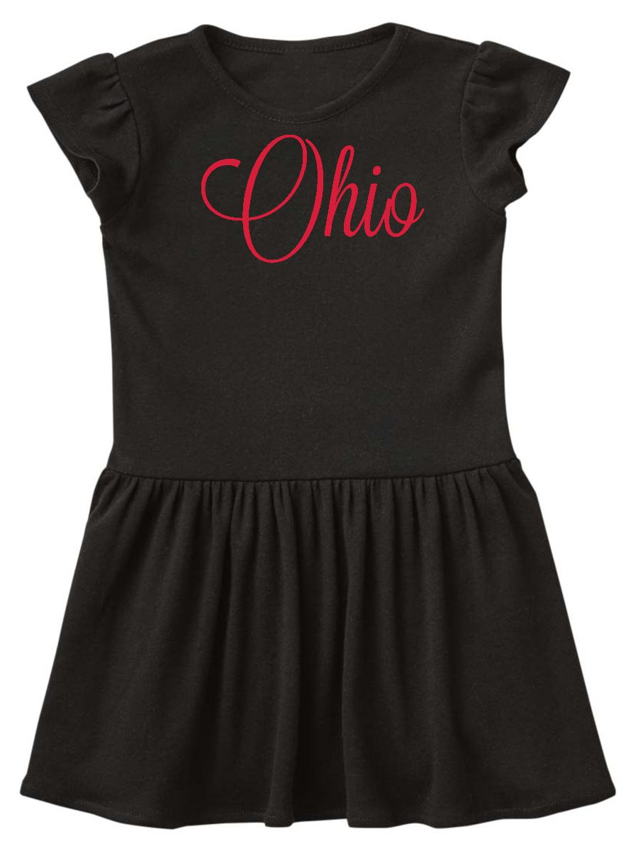 Ohio Toddler Dress