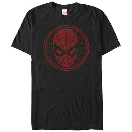 Marvel Men's Spider-Man Web Mask T-Shirt