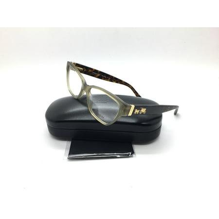 Coach New Authentic Tortosie Olive Gold Sig C Women Eyeglasses Hc6088 5395 52 15 135