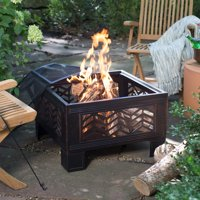 Red Ember Stillwater 26 in. Square Fire Pit