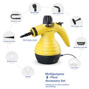 Handheld Steam Cleaner   Multi Purpose For Cleaning, Stain Removal And Disinfecting Your Home Yellow