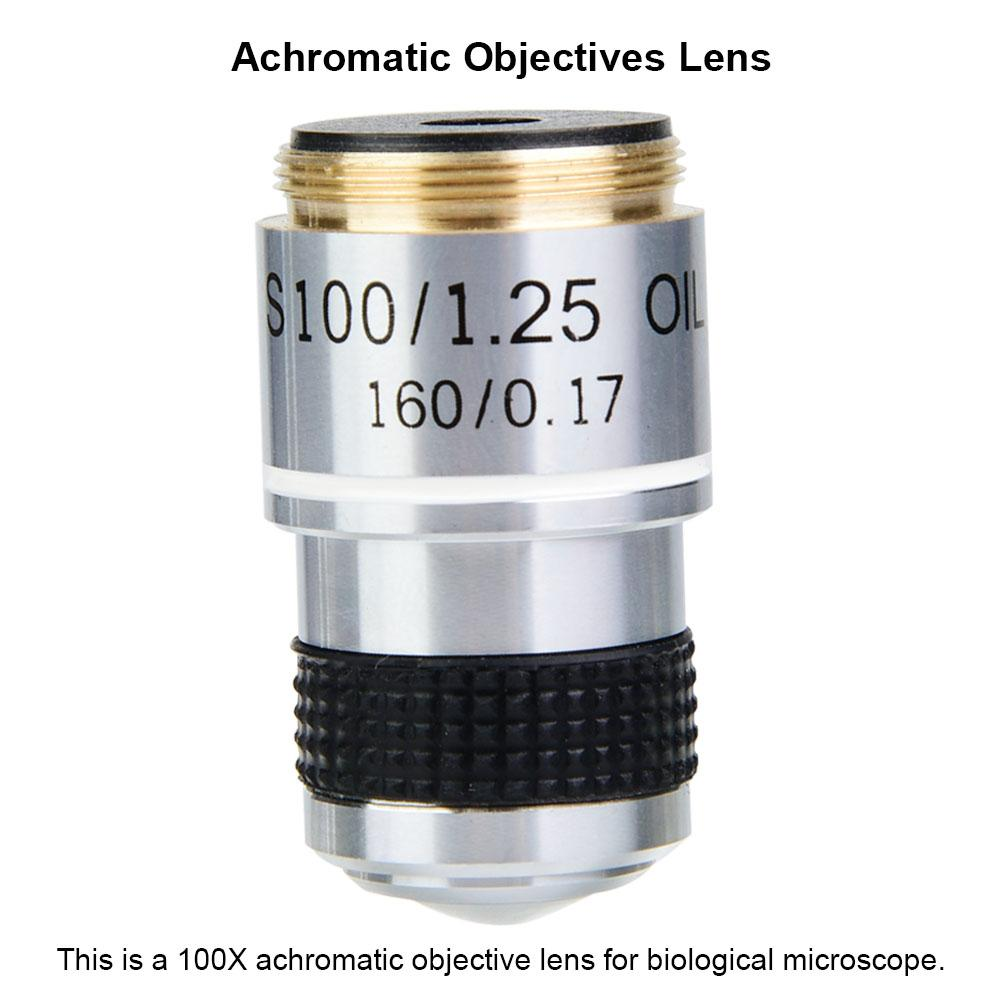 Plyisty Biological 4X 185 Biological Microscope Insect Observation Industrial Durable USB 160//0.17 Objective Lens