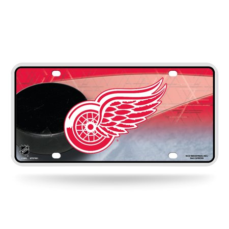Detroit Red Wings Logo NHL 12x6 Auto Metal License Plate Tag CAR TRUCK