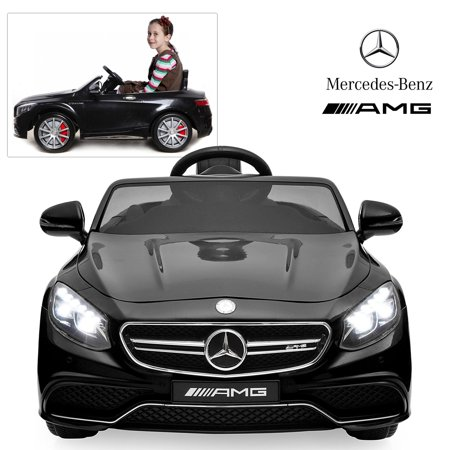 Official Licensed Mercedes Benz Ride On Car With Remote Control For Kids | 12V Power Battery AMG S63 Kid Car To Drive With 2.4G Radio Parental Control