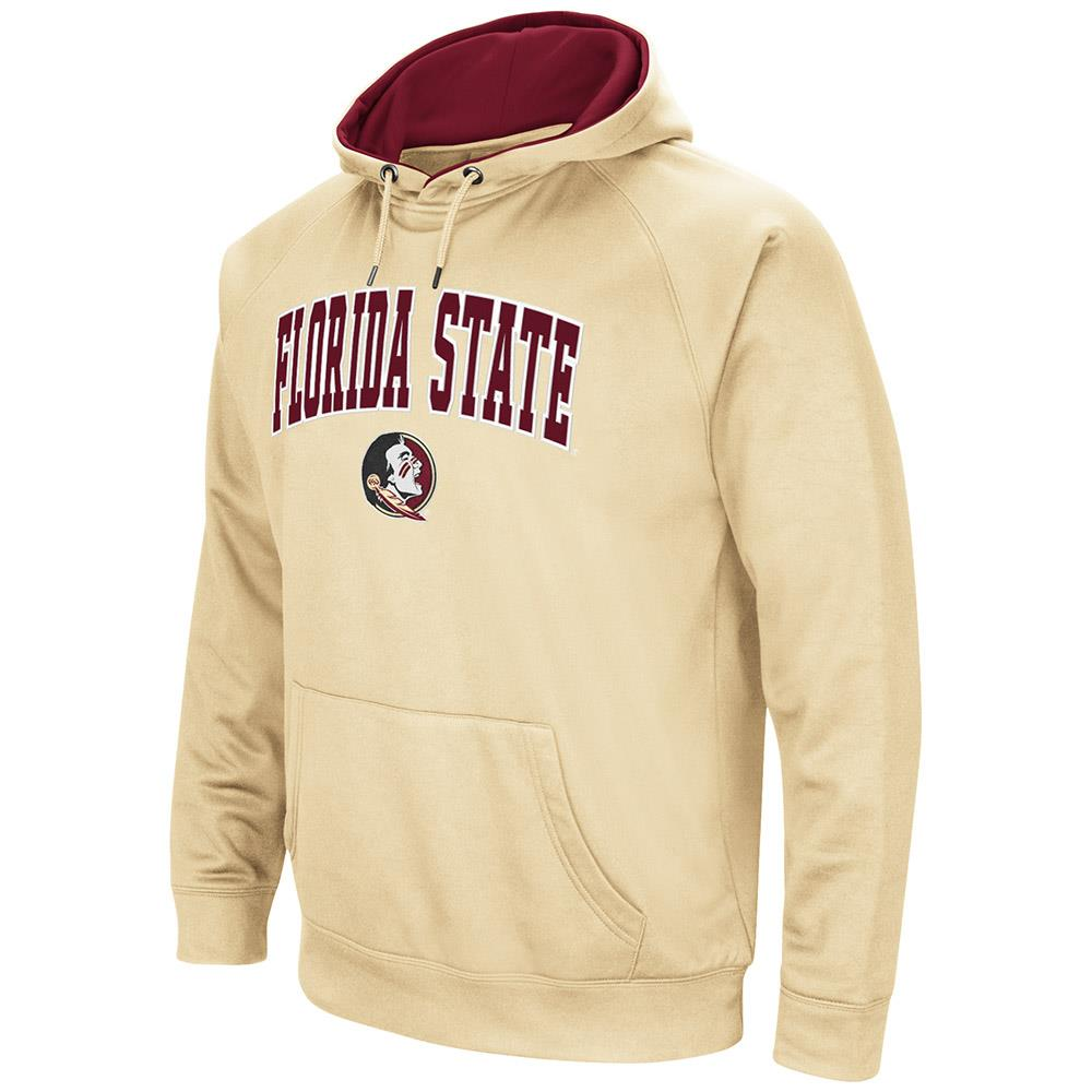 Mens NCAA Florida State Seminoles Fleece Pull-over Hoodie by Colosseum