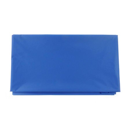 Plastic Table Cover, Rectangular, 54-Inch x 108-Inch, Royal Blue - Royal Blue Table Covers
