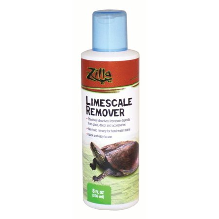 Zilla Limescale Remover (8 fl oz, 236 mL) (Best Limescale Remover For Shower Doors)
