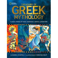 Treasury of Greek Mythology: Classic Stories of Gods, Goddesses, Heroes & Monsters (Reinforced Library) (Hardcover)