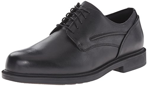 Dunham Men's Burlington Waterproof Oxford,Black,8.5 EE US by DUNHAM BY NEW BALANCE