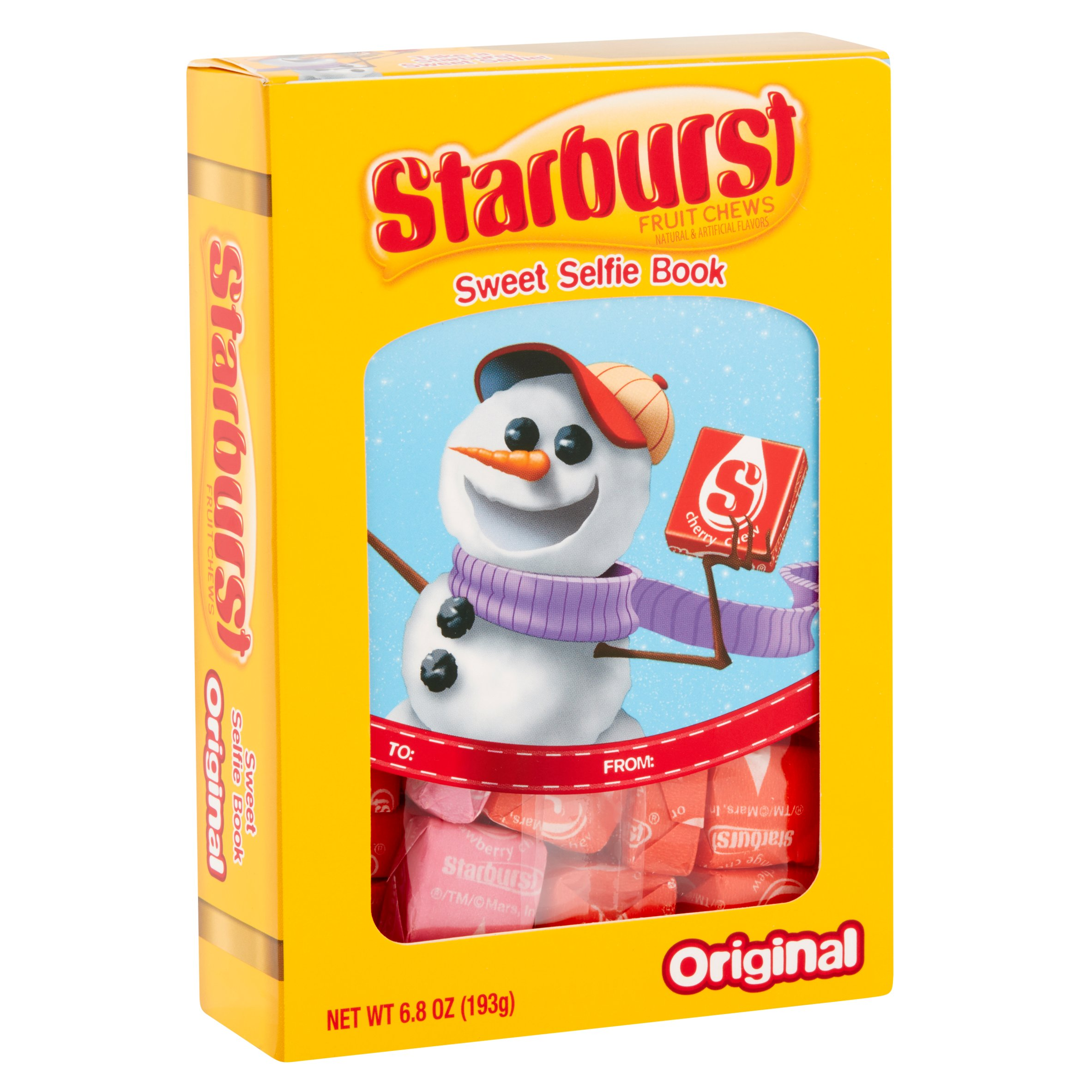 Starburst Sweet Selfie Book Original Fruit Chews, 6.8 oz
