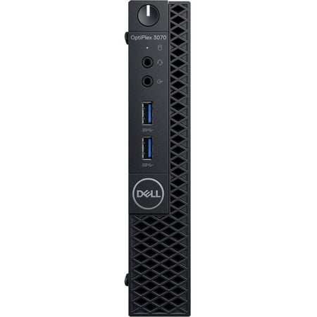 Dell OptiPlex 3070 Desktop Computer - Intel Core i5-9500T - 4GB RAM - 500GB HDD - Micro PC