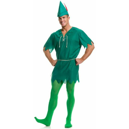 Peter Pan Men's Adult Halloween Costume (Halloween Costume Peter Pan Toddler)