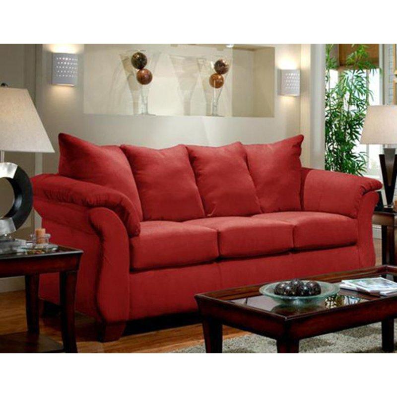 Chelsea Home Payton Sofa - Red Brick