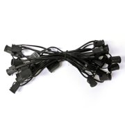 C9 Cord - 25 ft - Black Wire