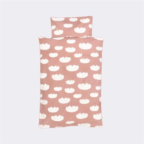 FERM LIVING 8071 BedtimeStories - Cloud Bedding 70x100cm- Rose - Baby
