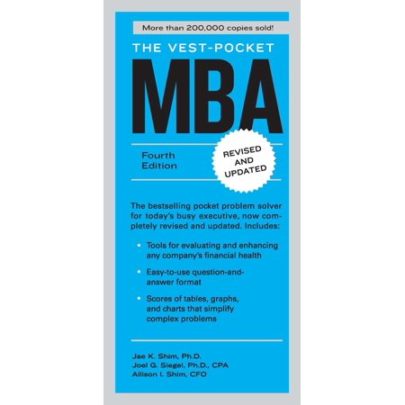 The Vest-Pocket MBA : Fourth Edition