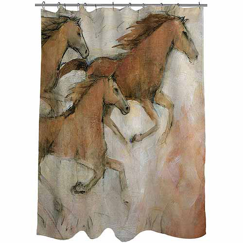 Thumbprintz Horse Fresco 2 Shower Curtain