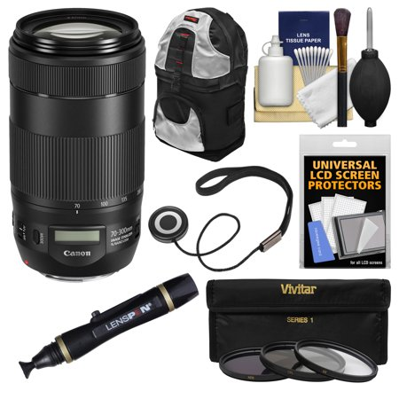 Canon Ef 70 300mm F4 56 Is Ii Usm Zoom Lens With 3 Filters