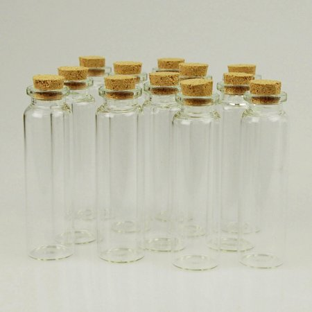 e965a9924472 Mini Corked Jars Tube Bottle Favors, 12-Piece, 3-1/2-inch