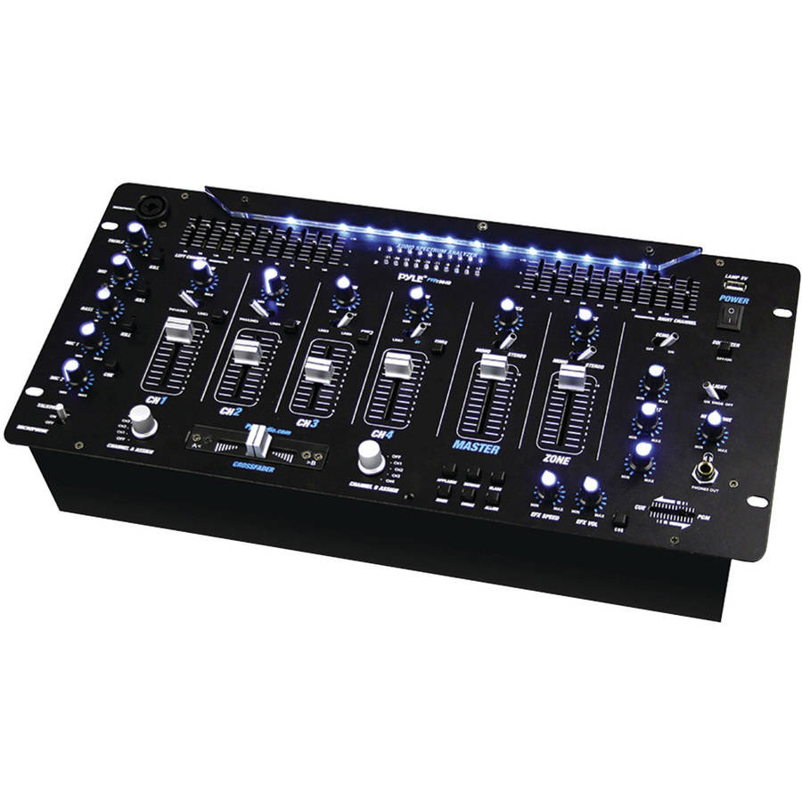 Pyle Pro PYD1964B 6-Channel Bluetooth DJ Mixer