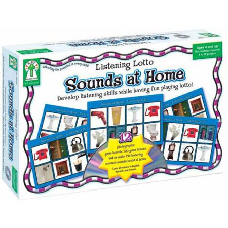 - Key Education Sounds At Home Listening Lotto Game