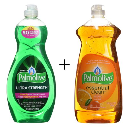 Ultra original dish liquid soap,591 ml By Palmolive + Dish Liquid, Orange, 828 Milliliter By Palmolive - image 1 de 1