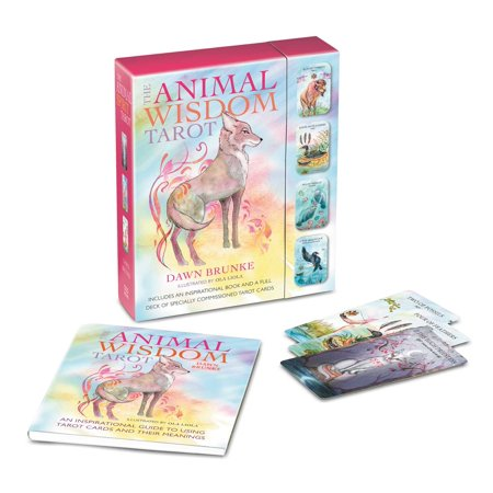 The Animal Wisdom Tarot : An inspirational guide to using tarot cards and their -