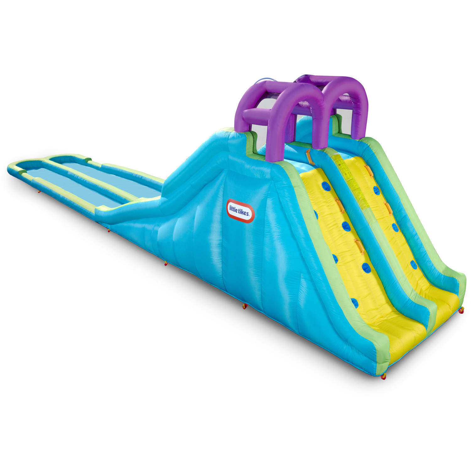 Little Tikes Racing Slides Waterslide