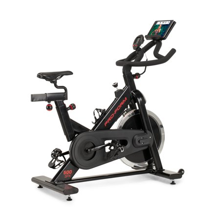 ProForm 500 SPX Exercise Bike with Integrated Device Shelf, Compatible with iFit Personal Training
