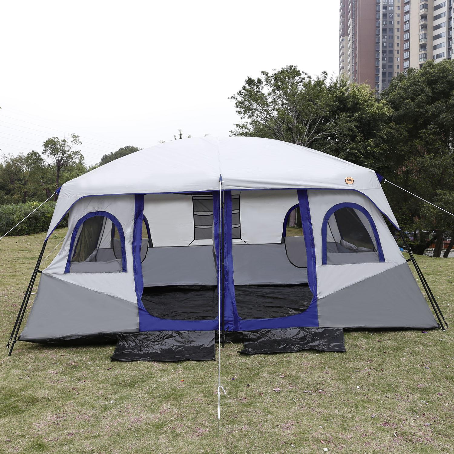 Instant big Family Tent 8 -10 Person Large Automatic Cabin Tents Double Layer Windproof Waterproof & Instant big Family Tent 8 -10 Person Large Automatic Cabin Tents ...
