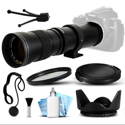 420mm-800mm f8.3 HD Telephoto Lens Bundle for Olympus PEN E-PL7 E-P5 E-PL6 E-PL5