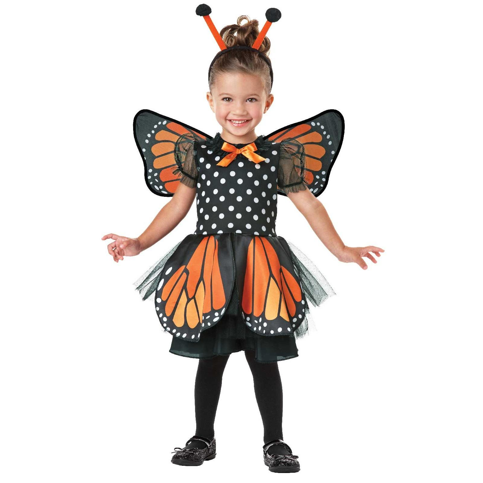 Monarch Butterfly Infant/Toddler Costume - 2T-4T