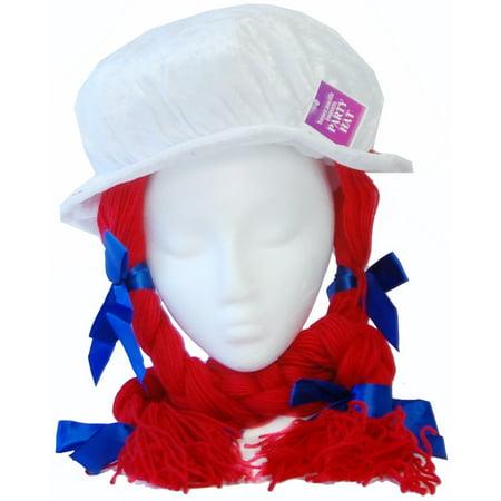 Raggedy Anne Costume Hat (Anne Geddes Costume)