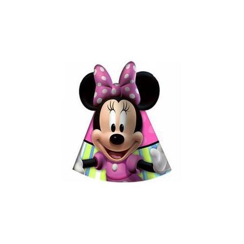 Hallmark 221977 Disney Minnie Mouse Bow-tique Cone Hats