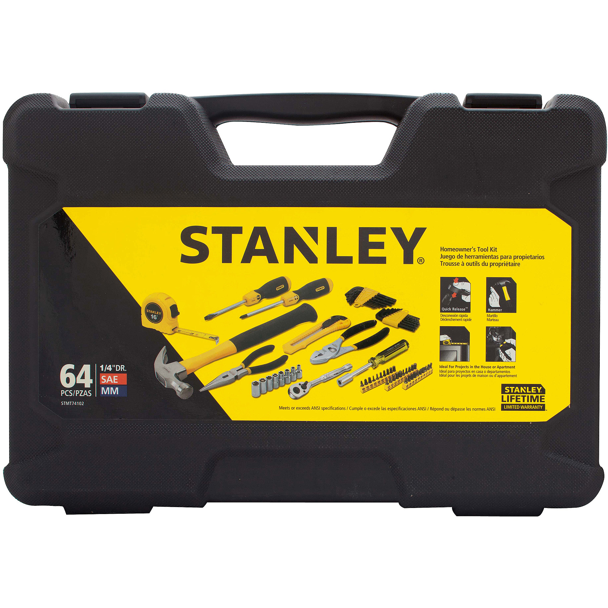 Stanley 64-Piece Home Owners Kit