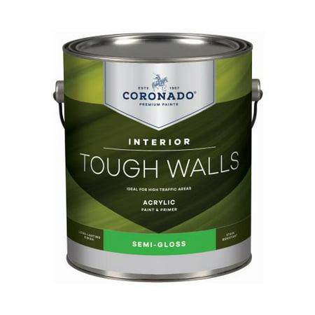 - Benjamin Moore & Co-Coronado C22.1.1 TW GAL WHT Semi Gloss INT Paint - Quantity 4