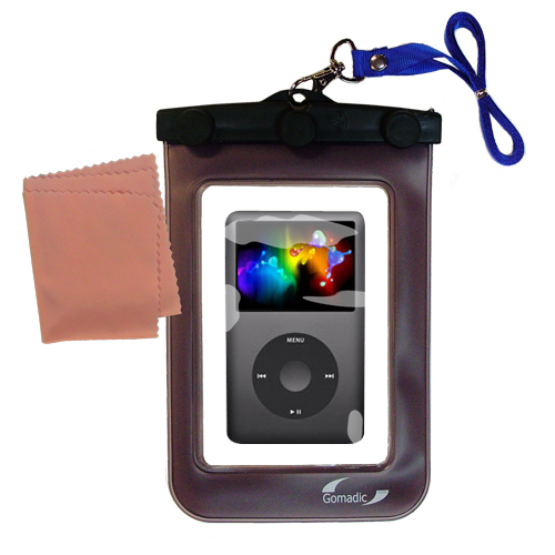 Gomadic Clean and Dry Waterproof Protective Case Suitablefor the Apple Classic to use Underwater