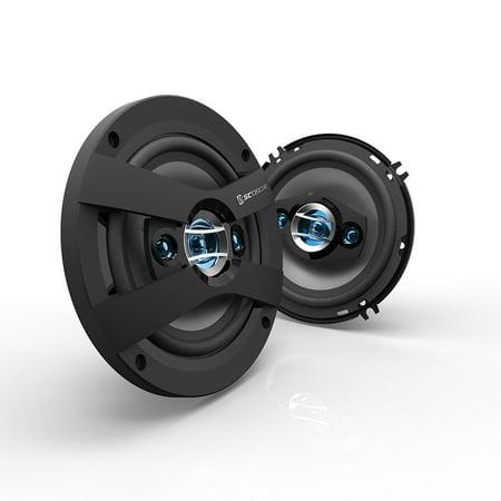 Scosche HD6504F - HD Speakers | Speakers for Cars | 6.5
