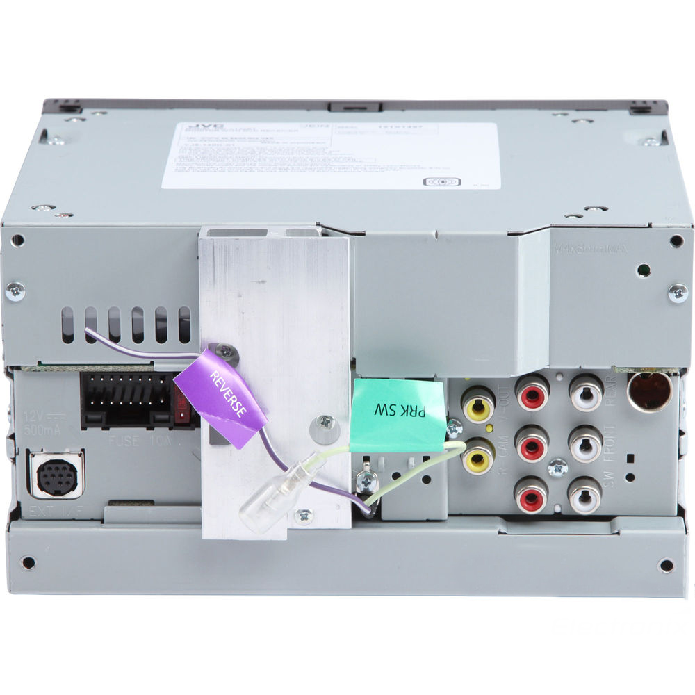 JVC KW-V130BT Double DIN BluetoothA In-Dash DVD/CD/AM/FM Car Stereo ...