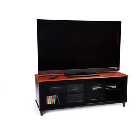 Convenience Concepts French Country Black & Cherry TV Stand, for TV's up to 60″