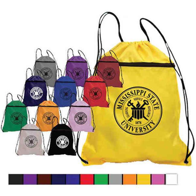 Superbagline QSB53 Black Polyester Backpack - Pack of 25