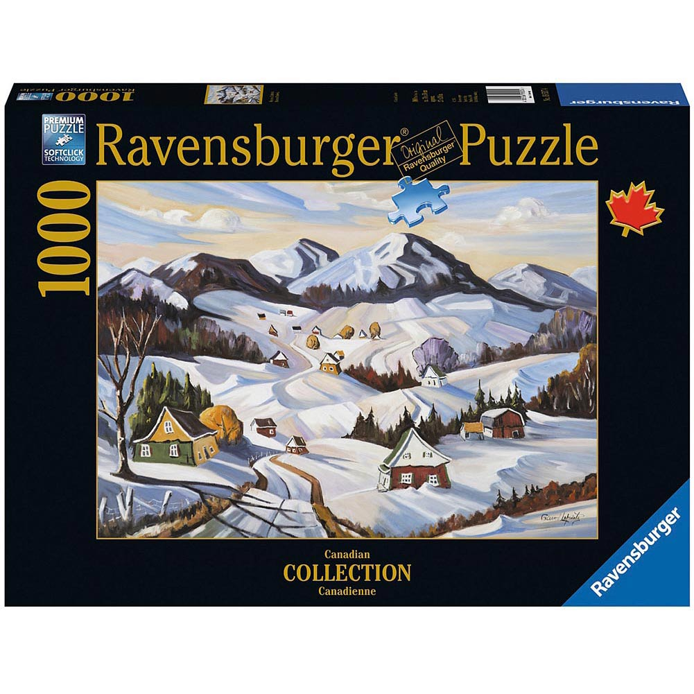 Winter in Charlevoix 1000 Piece Puzzle