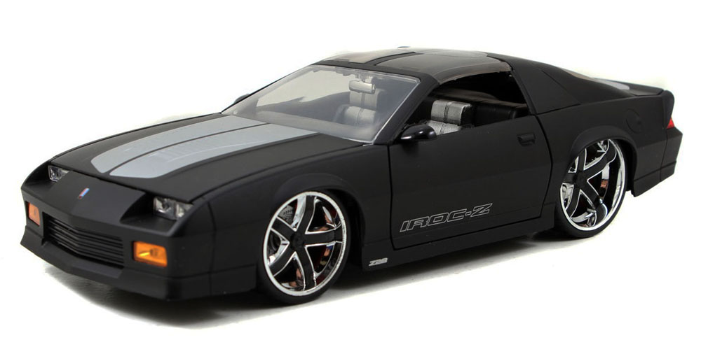 1985 Chevy Camaro T-Top, Black Jada Toys Bigtime Muscle 96763 1 24 scale Diecast Model Toy... by Jada