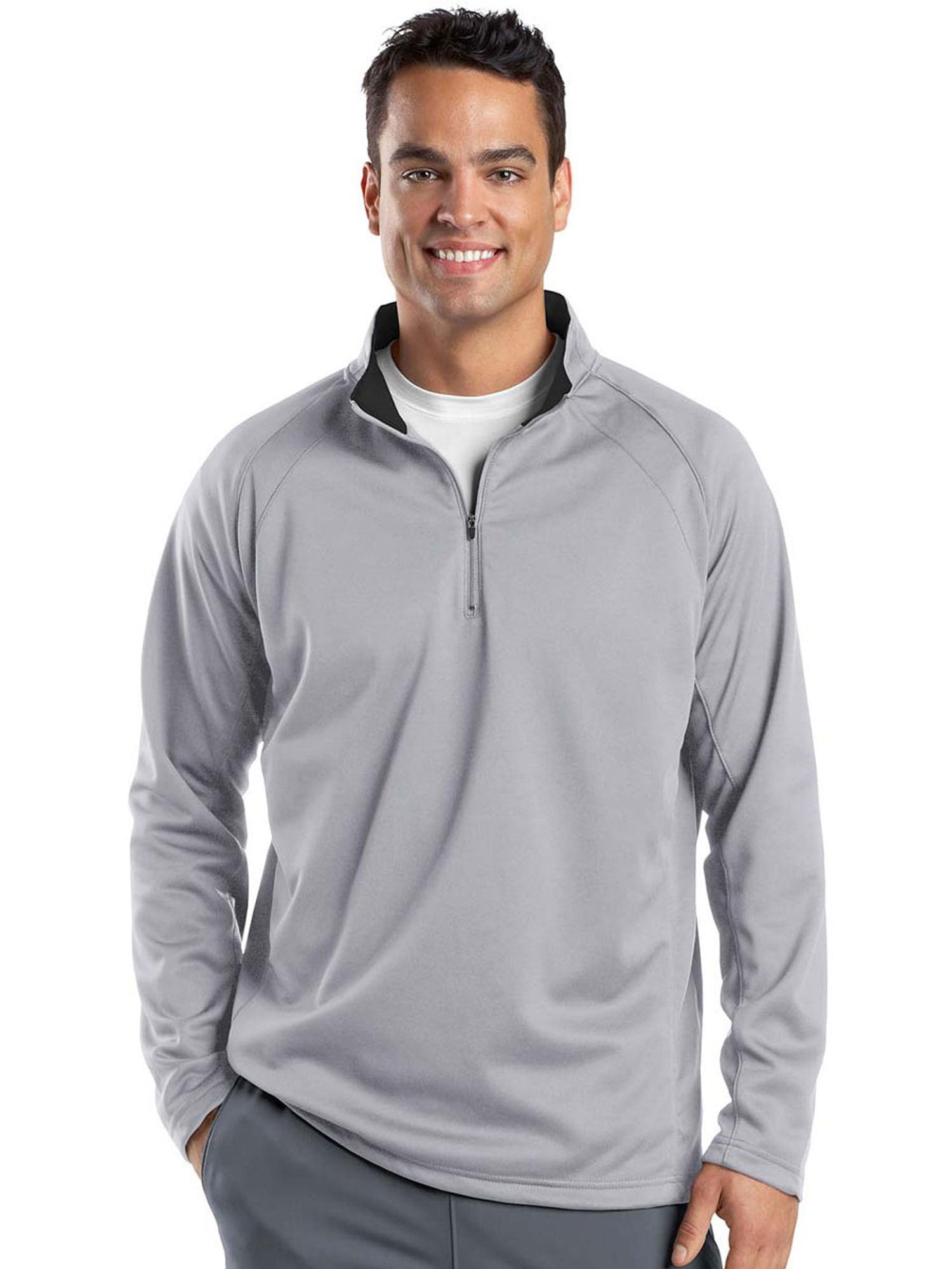 Big Mens 1//4 Zip Sport-Wick/® Fleece Pullover