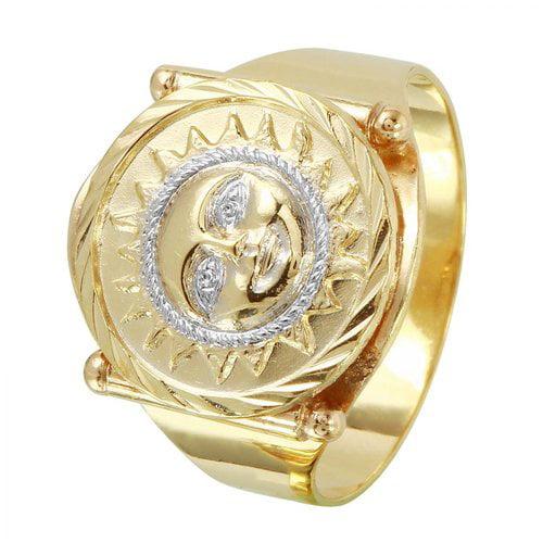 foreli 10k yellow gold ring walmart