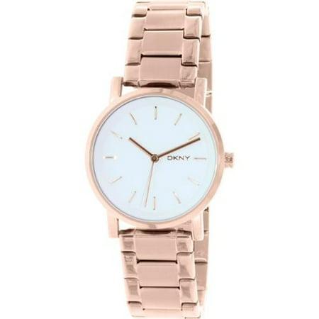 ba9fb48bab8 Donna Karan - Women s SOHO Rose Gold Tone Watch NY2344 - Walmart.com