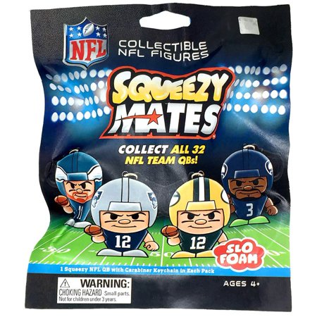 NFL Quarterback Series Squeezy Mates Mystery Pack (Mystery Mates)
