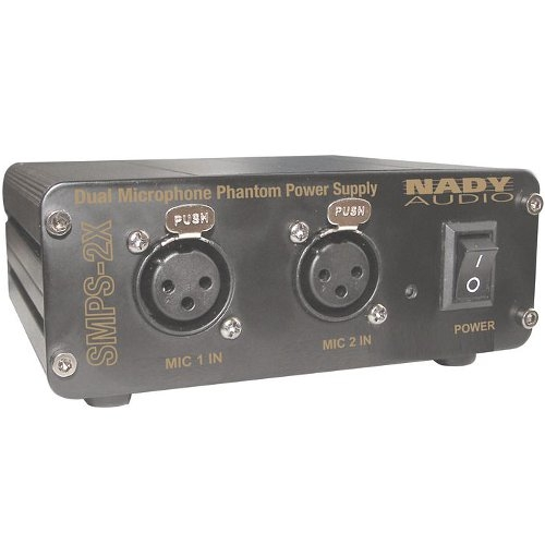 Nady 2-Channel 48V Phantom Power Supply SMPS-2X